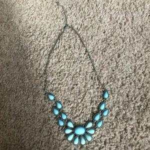 Jewelry - Baby blue designed necklace